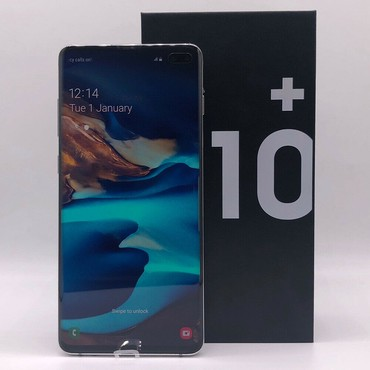 Galaxy S10+ Clone Silver 6,4 Inch Plus,Octa Core, Dual Sim,Eyes