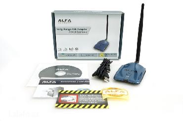 Bakı şəhərində Новый wifi адаптер alfa awus036nhvХарактеристики:wireless: ieee
