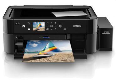 скороход доставка бишкек в Кыргызстан: МФУ Epson L850 Принтер, Сканер, Копир Первый в своем роде фотоцентр
