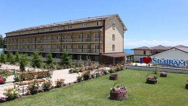 Отдых на Иссык-Куле - Корумду: Номер, Детская площадка, Парковка, стоянка, Охраняемая территория
