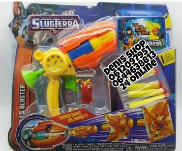 Pištolj Slugterra sa mecima koji se transformišu- Pištolj približnih