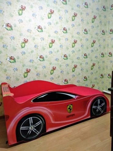 Продаю детскую кроватку-машинку Ferrari, в Бишкек