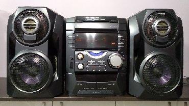 б-у-музыкальный-центр в Кыргызстан: Продаю музыкальный центр отл. сост. аукс