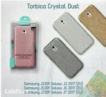 TORBICA CRYSTAL DUST za: Samsung J330f galaxy J3 2017 (EU). Samsung J5