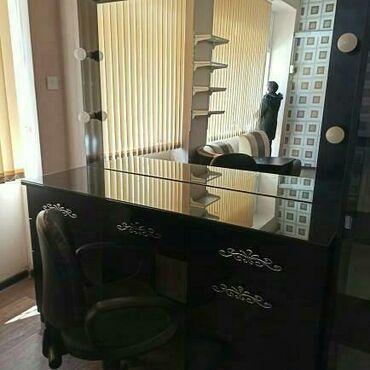 Makiyaj stolu ishiqli, guzgulu 250 manat buzovna @sona
