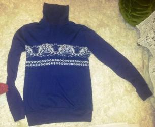 Nekorišćen džemper-rolka, vel. L. Sastav: pamuk, poliester. Veoma - Belgrade