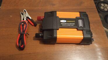 Автоэлектроника - Кыргызстан: Инвентер преоброзователь с 12 v на 220 v.Мощность 4000w.Новый не