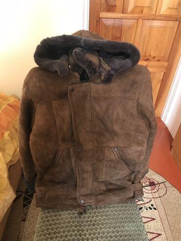 вязаные куртки для мужчин в Кыргызстан: Продаю дублёнку, размер s-m. В хорошем состоянии