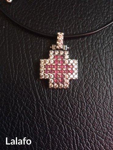 Ρούχα Γάμου & Αξεσουάρ - Ελλαδα: Λευκοχρυσος σταυρος (η τιμη ειναι απο εκτημηση )