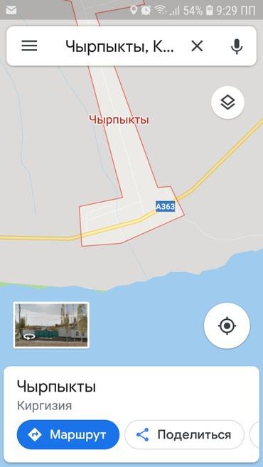 Продаю участок на ИК северный берег в Бишкек