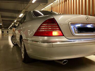 Mercedes-Benz - Gəncə: Mercedes-Benz S 320 3.2 l. 2000   390000 km