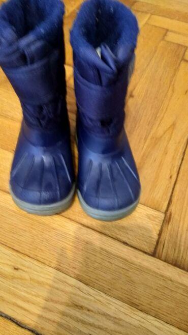 Zimske cizme podstavljene kratko nošene br 25