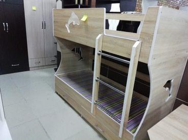 Двухярысный кровать хорошая качество в Бишкек