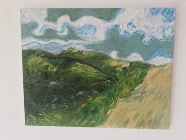Slika uradjena po Van Goghu - Sabac