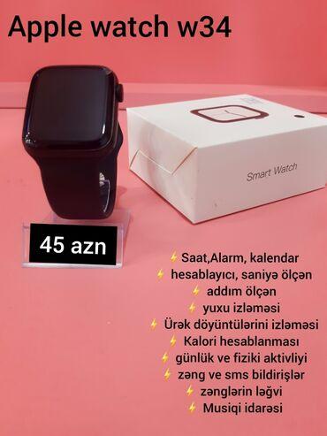 bir yaşlı uşaqlar üçün paltarlar - Azərbaycan: Qara Uniseks Qol saatları Apple