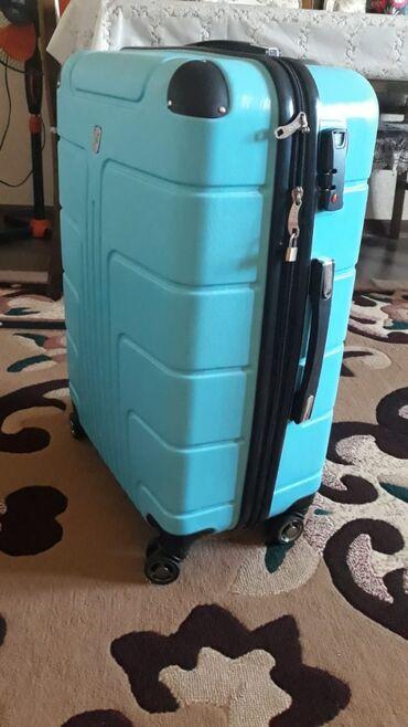 Личные вещи - Кара-куль: Дорожный чемодан в хорошем состоянии из России покупала за 7тыч рублей