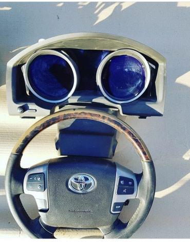 Щиток приборов дизельный Toyota land cruiser 200 model 2008-11 в Бишкек