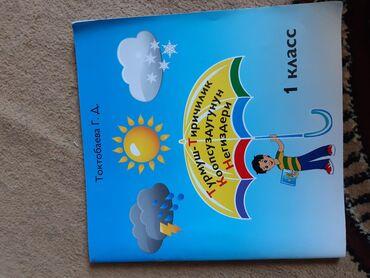 жакшы-китеп в Кыргызстан: Учебник для первого класса по предмету ТТКН кыргызским языком обучения