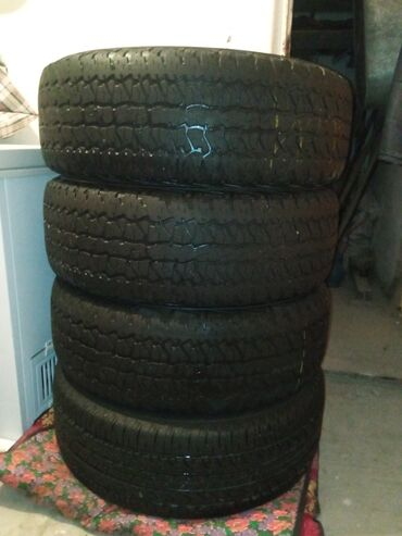 3 шины firestone и 1 шина b.f.goodrich Износ 10-15 %