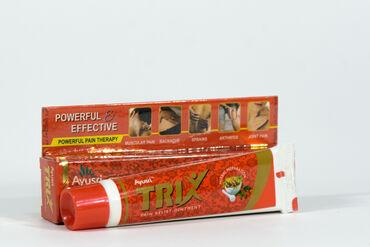 «мазь трикс»  применять при мышечной, суставной, ревматической боли