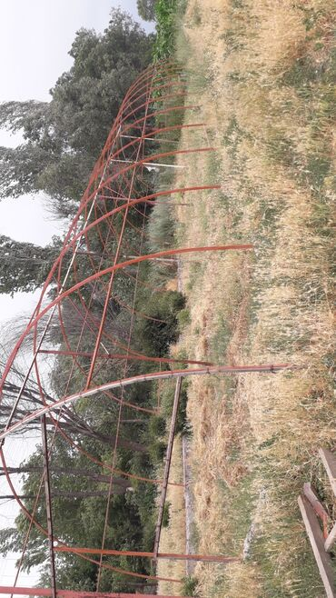 Каркас теплицы в длину 25 метрширина 7 метров
