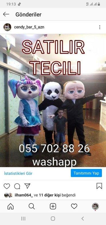 - Azərbaycan: Karnaval paltarlari satilir tecili
