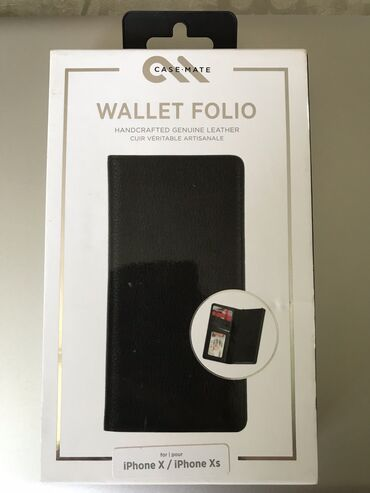 sim karta dlja iphone 5 в Кыргызстан: Чехол бумажник на Apple Iphone XS. Натуральная кожа
