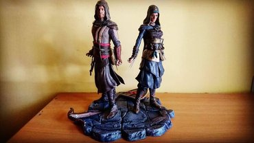 Assassin creed diorama σε Parikia