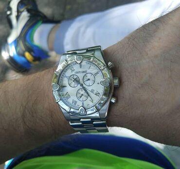 Мужские часы хронографы. Бренд Roberto Cavalli. Италия.Хронограф этой