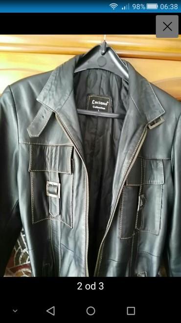 Personalni proizvodi | Zajecar: Postavljenja kožna jakna, veličina 40