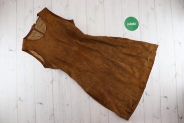 Жіноча замшева сукня Victoire, р. М    Довжина: 85 см Ширина плеча: 32