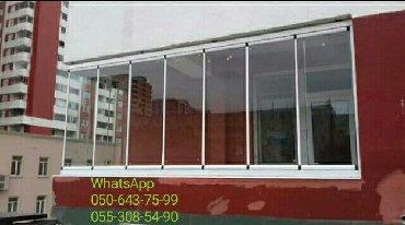Cam balkon   Cam balkon ve surgulu surme sistemləri, evinizdə və ya