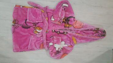 махровые халаты бишкек in Кыргызстан | ПЛАТЬЯ: Банный халатик, очень тёплый. В идеальном состоянии на 1-2 года
