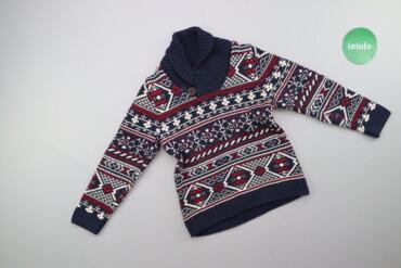 Детский мир - Украина: Дитячий светр з новорічним візерунком H&M, вік 6-8 р., зріст 122-1