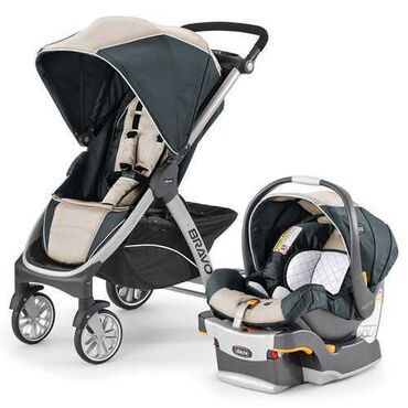 happy dino коляска в Кыргызстан: Коляска детская Chicco Bravo Travel System 3в1 серый