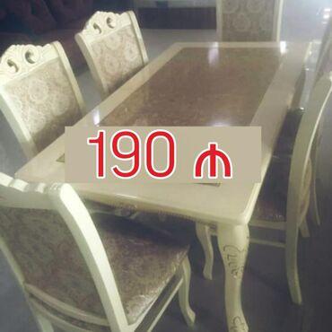 Masa Yepyenidir 190 azn. Pakofka. Deyerinden cox cox ucuz satilir