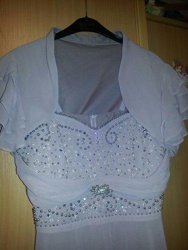 Prelepa, duga, svecana haljina, obucena jednom. Placena 11. 000 dinara - Valjevo