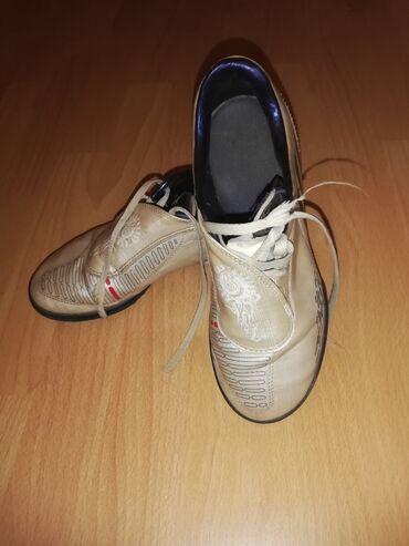 Dečije Cipele i Čizme - Varvarin: Adidas kozne patike za fudbal br36 patike ocuvane nemaju nikakvog