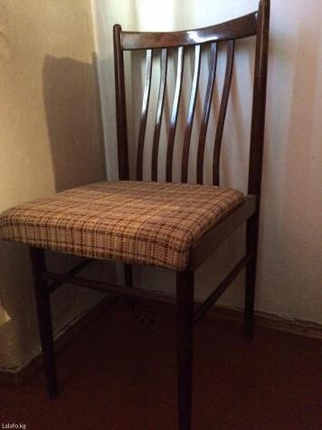 стулья 6шт в связи с переездом в отл сост гарн жил комн»Древоуния»(ЧСС в Бишкек
