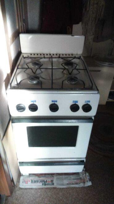 Газовая плита б/у с газовой духовкой, ширина 52, длинна 60см, высота