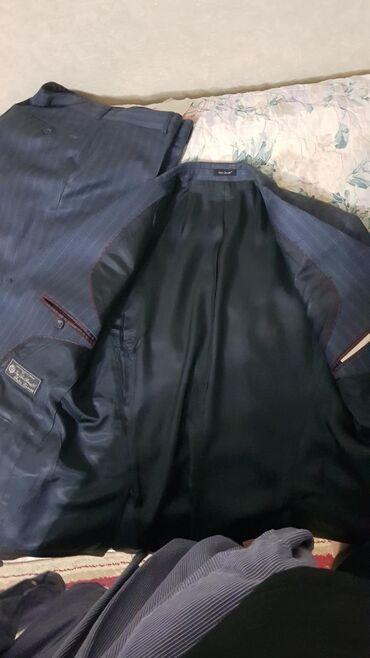 Мужские пальто в Кыргызстан: Костюм Итальянский Fabio Zanetti ! Состояние почти как новый одевали