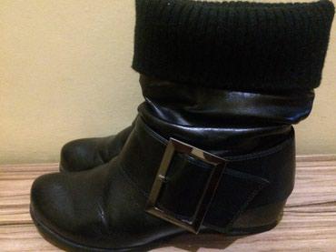 Ботинки DAPHNE кожаные, деми, в отличном состоянии. Размер 34-35 в Бишкек