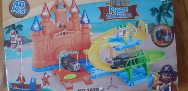 Qəsir içində lego qurmalar qatar reyisi hərəkəti super oyuncaq