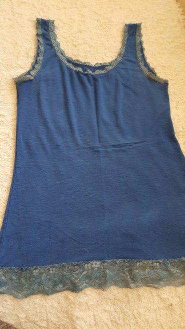 Plava majica sa cipkom - Pozarevac