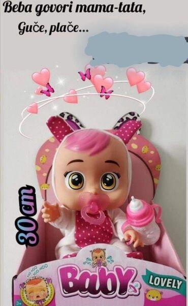 Lovely baby lutka koja place sjajna lutka je pred vama. Ova veoma