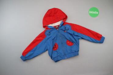6126 объявлений | ДЕТСКИЙ МИР: Дитяча двоколірна вітрова куртка   Довжина: 32 см Довжина рукава: 41 с