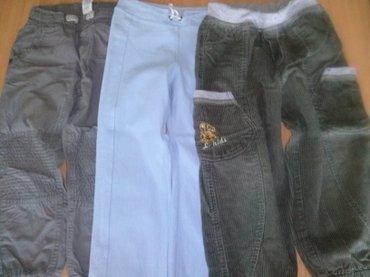 Pantalone za deČaka, veličina 4. Prve su termo-pantalone, drugo je - Beograd