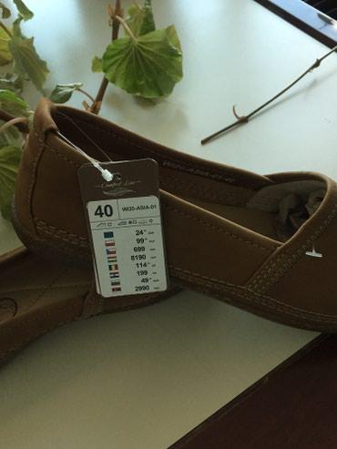 Bakı şəhərində Новые кожаные туфли , производство Польша, идут на 39 размер