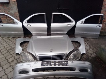 мерседес w220 запчасти в Кыргызстан: Mersedes bens W220 привозные бу, оригинальгые запчасти из японии, евро