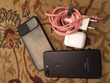 iphone 7 plus 128gb в Кыргызстан: Б/У iPhone 7 Plus 128 ГБ Черный